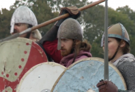 Sold-out Battle of Hastings re-enactment goes off with a bang