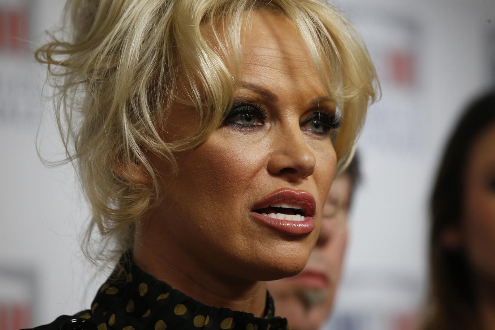 Anti-Porn Actress Pamela Anderson Slams Donald Trumps Remarks-1704