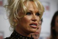 Pamela Anderson campaigns