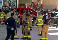 Four dead after US Navy serviceman drives truck off bridge onto festival crowd