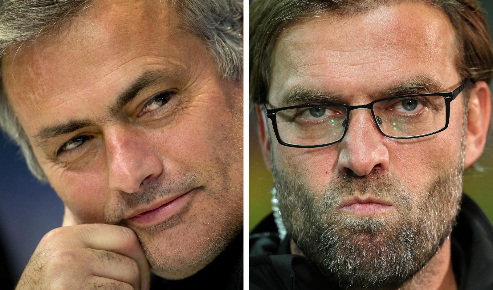 Jose Mourinho vs Jurgen Klopp