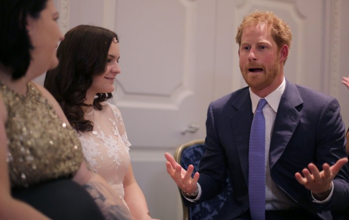 Prince Harry at WellChild