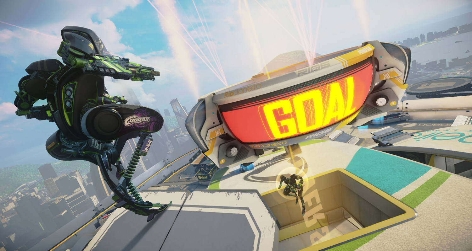 RIGS Mechanized Combat League screenshot