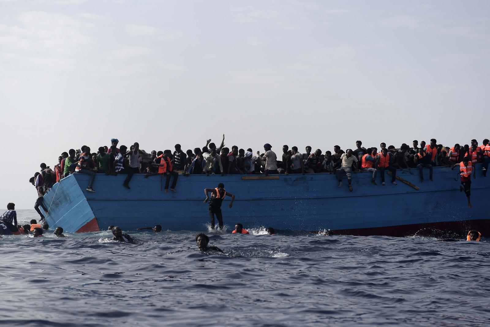 Migrants Mediterranean