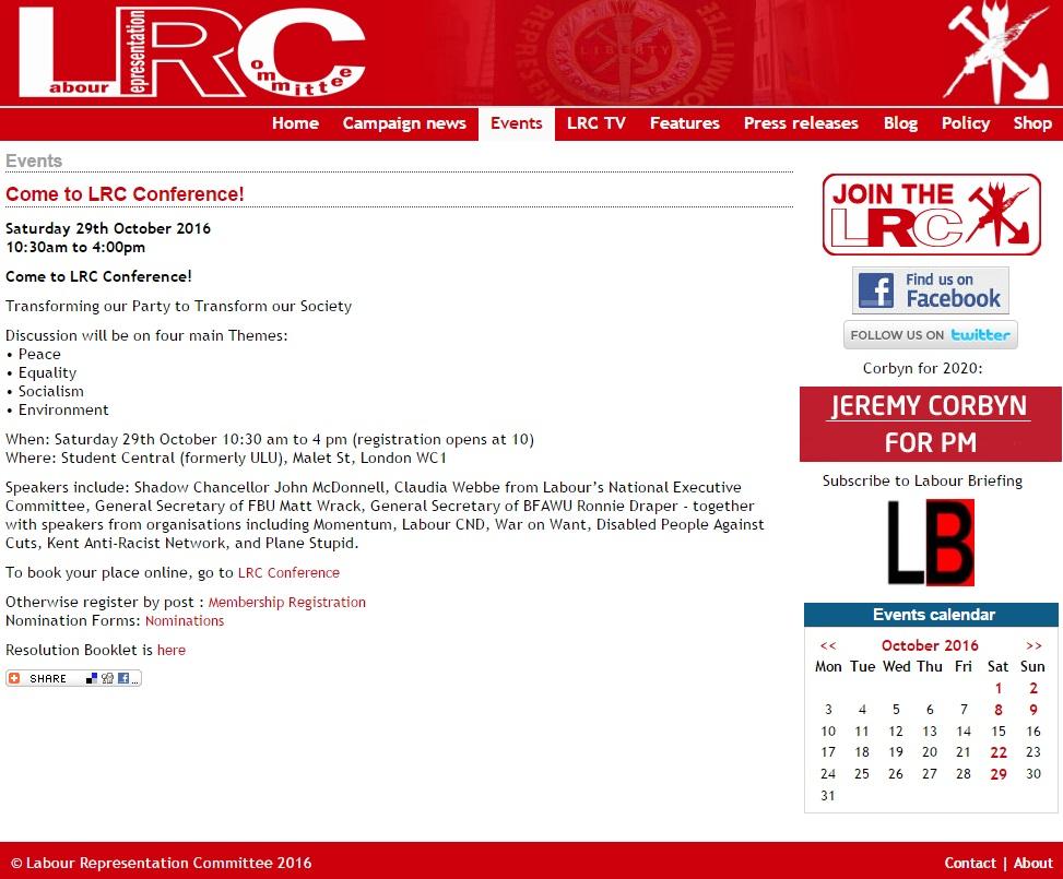 New LRC website