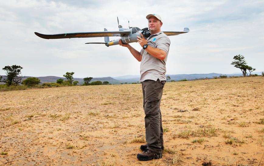 Drones to combat poachers