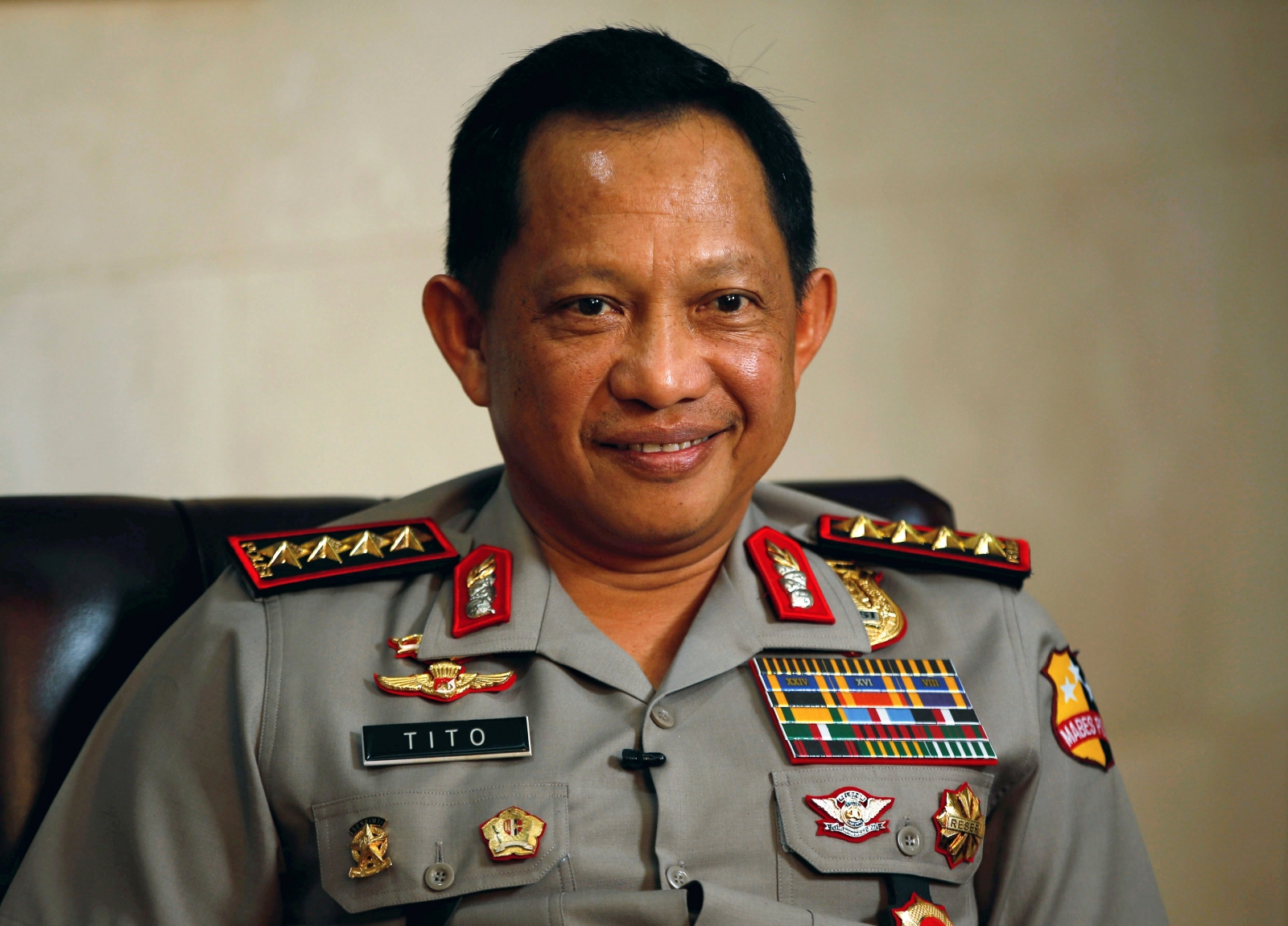 Indonesian police chief