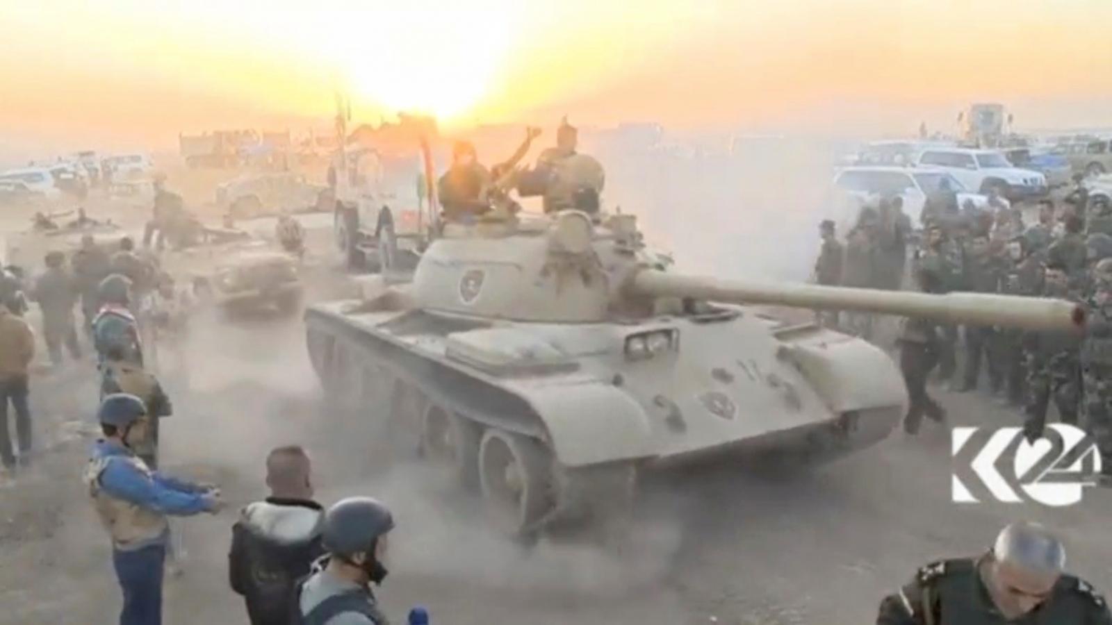 Iraq battle for Mosul