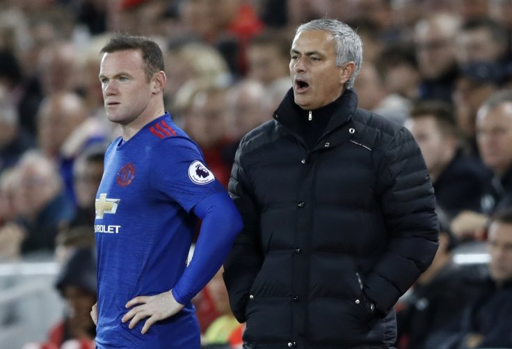 Wayne Rooney & Jose Mourinho