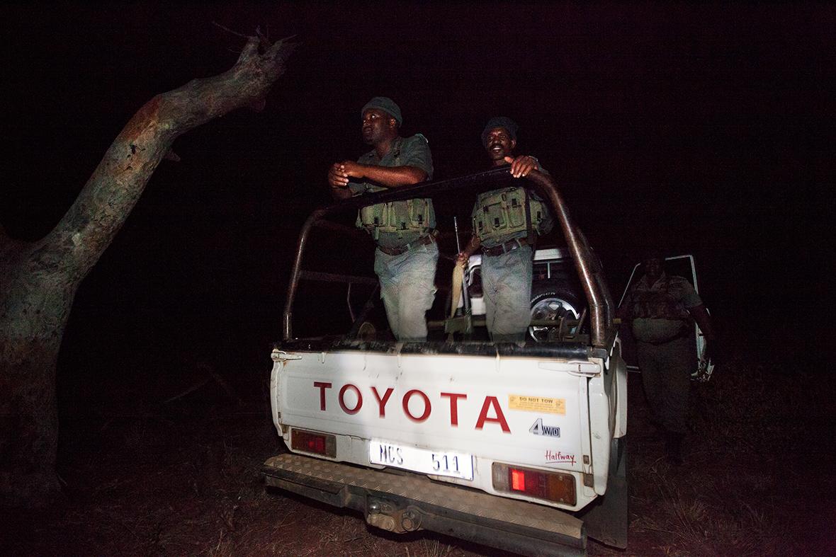 Anti-poaching rangers
