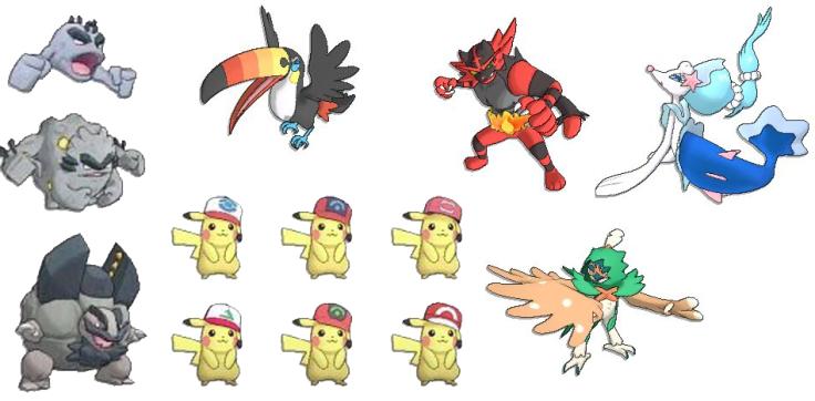 522f1311a42c9 Pokemon Sun and Moon demo leaks final starter evolutions