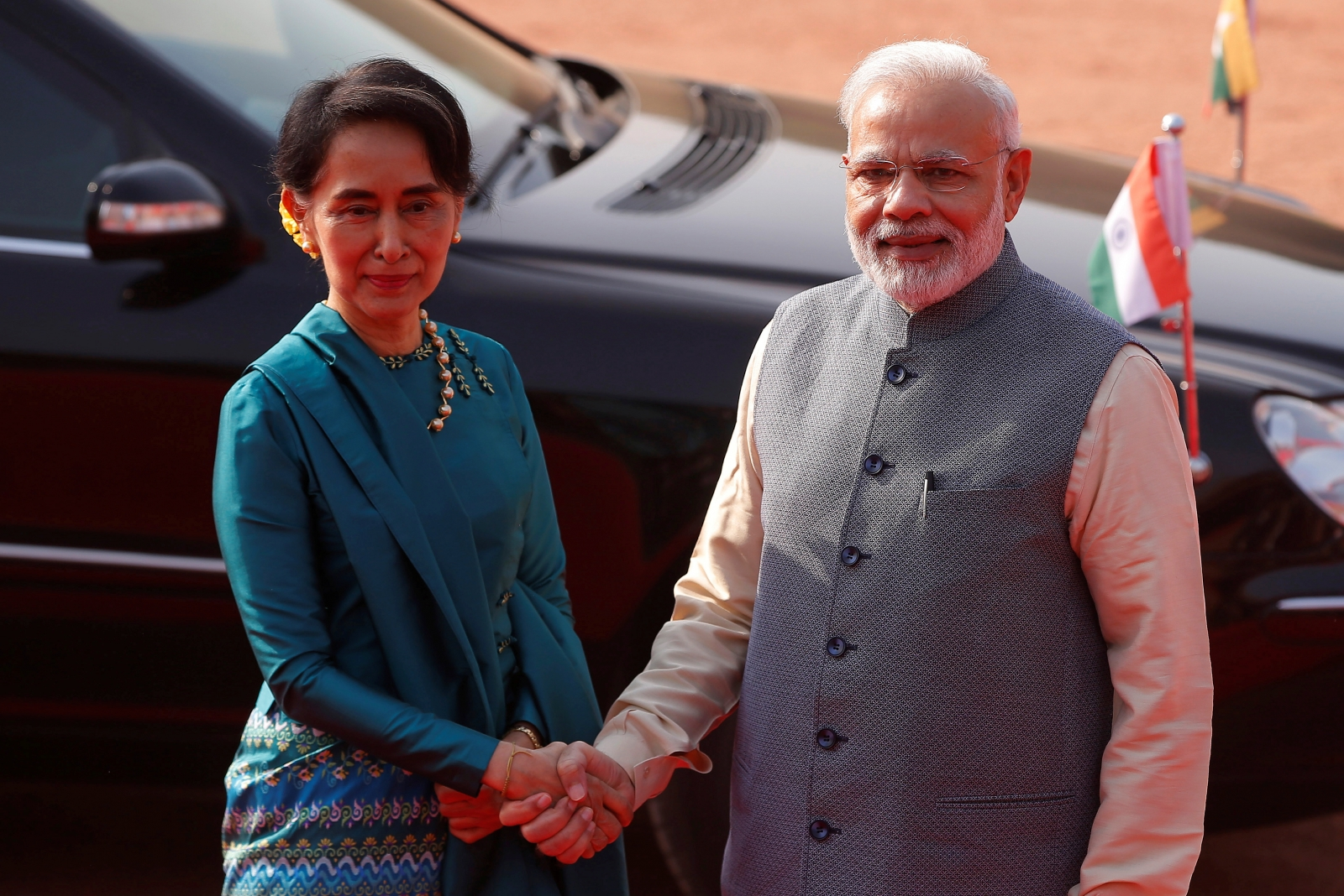 Myanmar's Aung San Suu Kyi's India visit