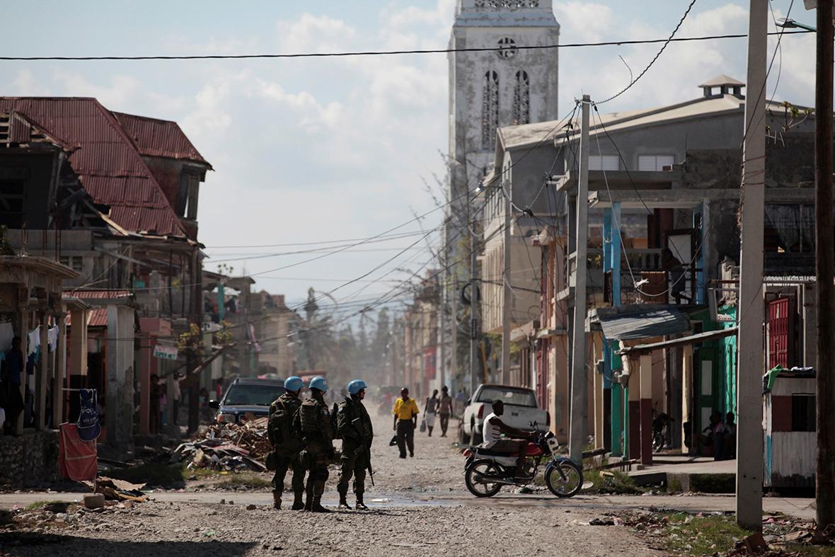 Hurricane Matthew Haiti