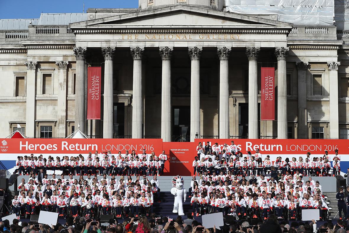 Victory Parade, London