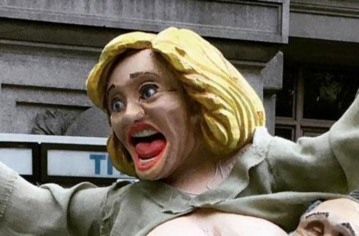 Hillary Clinton statue