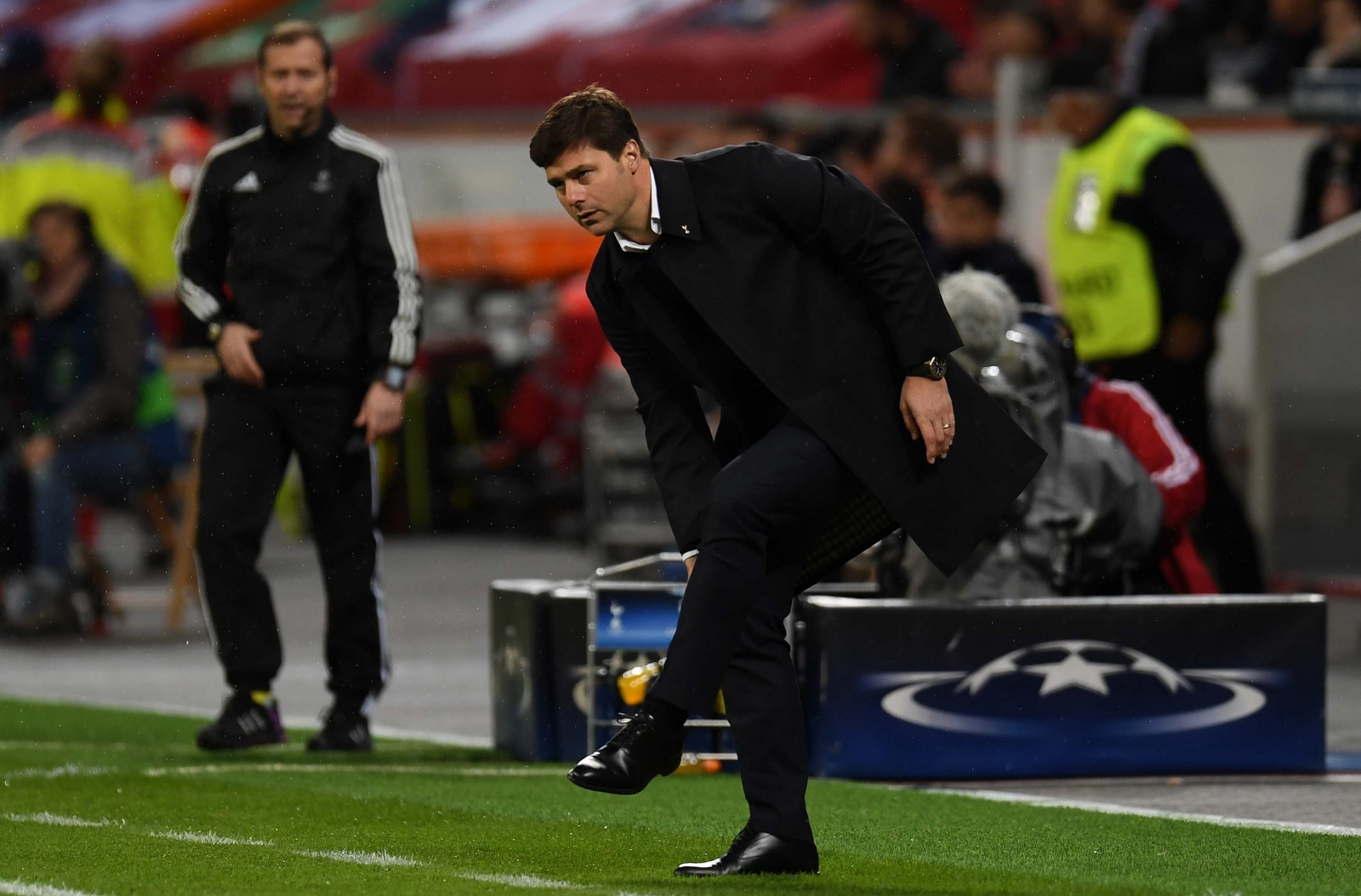 Mauricio Pochettino on the touchline