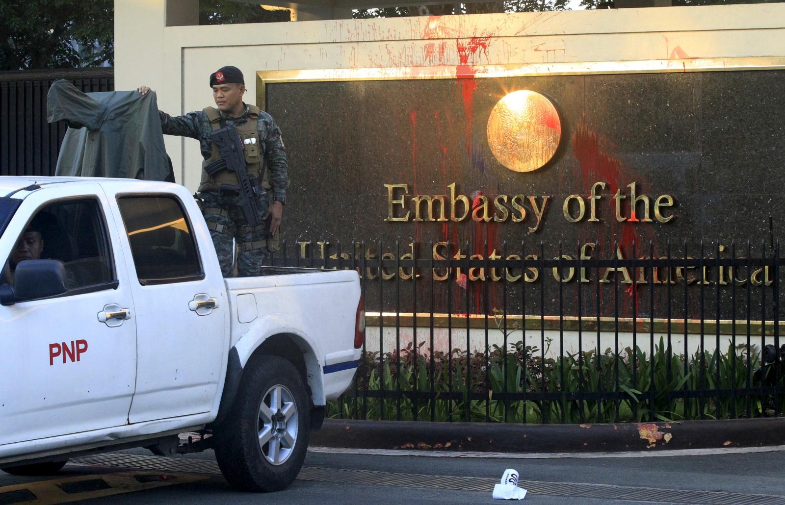 US Embassy Manila