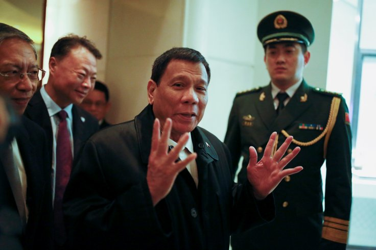 Duterte China visit