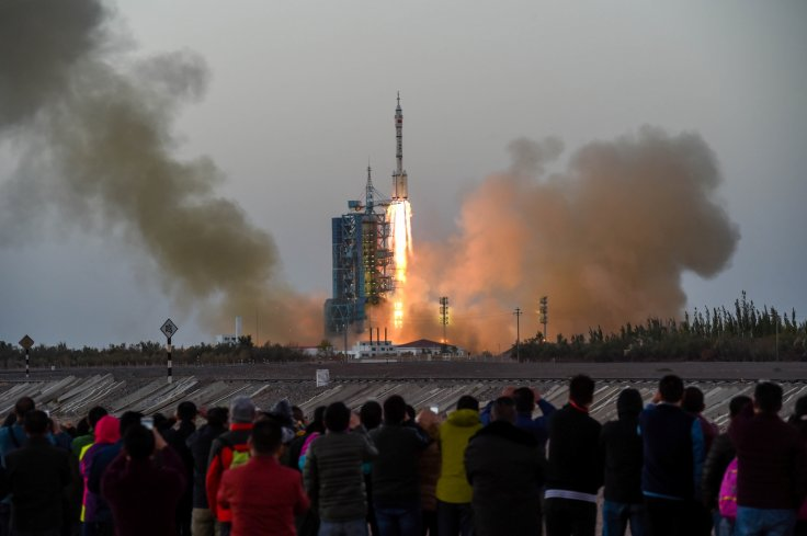 Shenzhou-11 manned spacecraft china