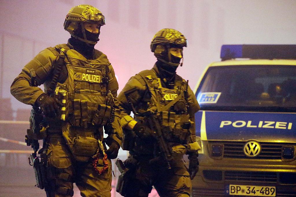 Police special unit in Munich