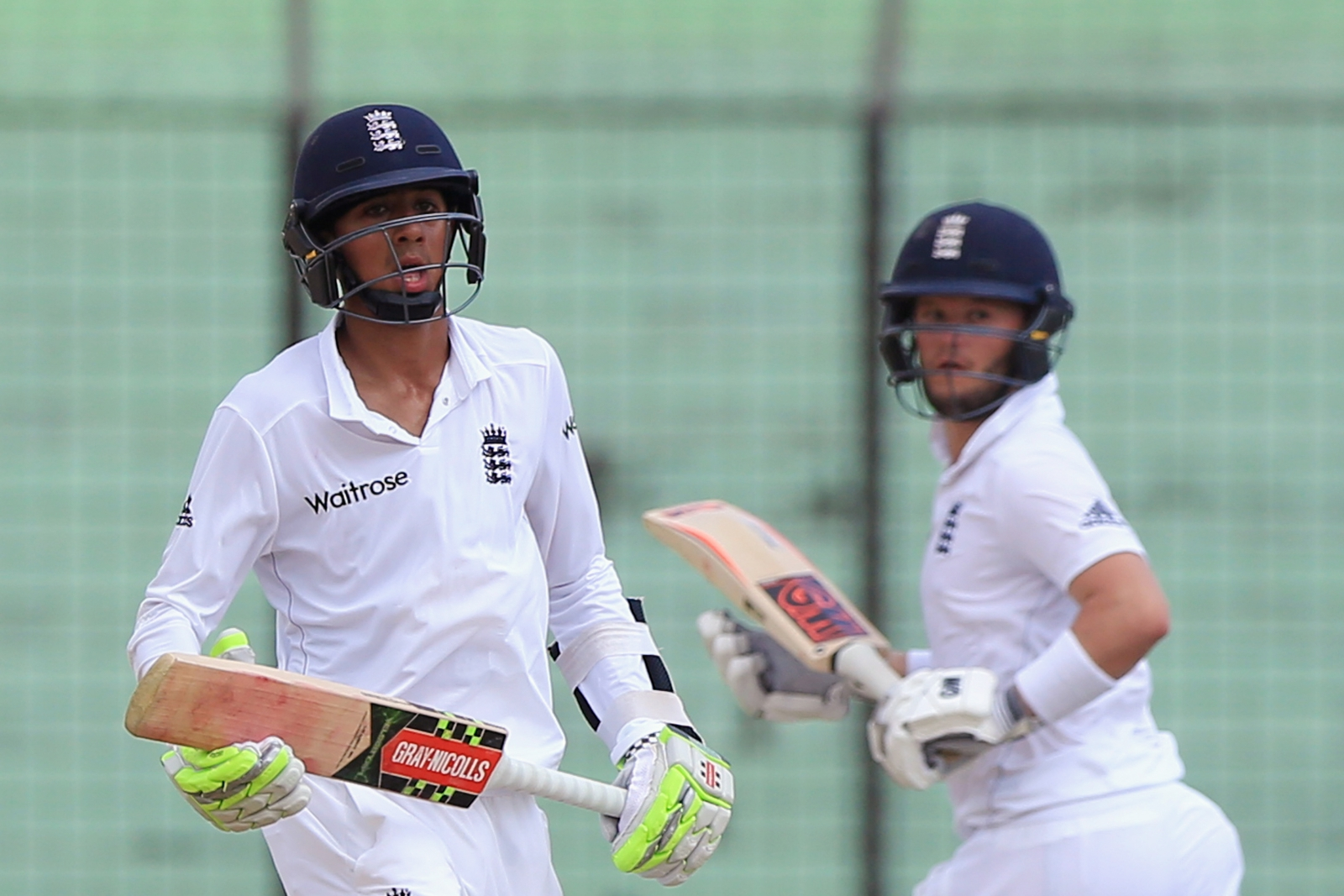 Haseeb Hameed (left) and Ben Duckett