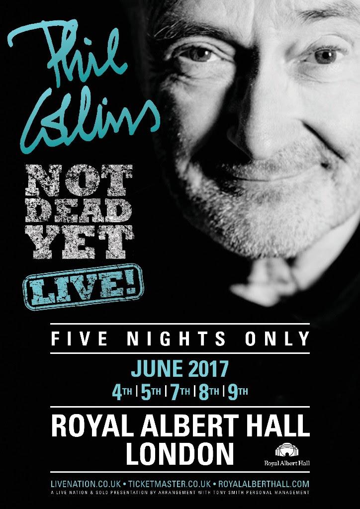 Phil Collins tour
