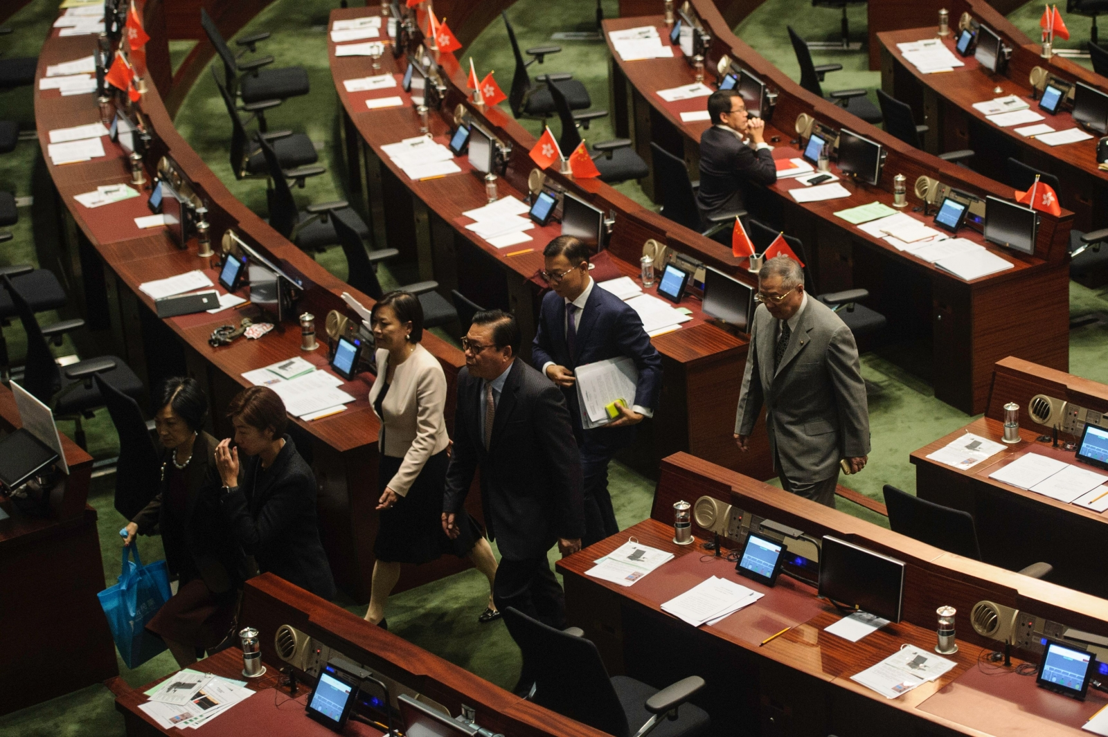 Hong Kong lawmakers