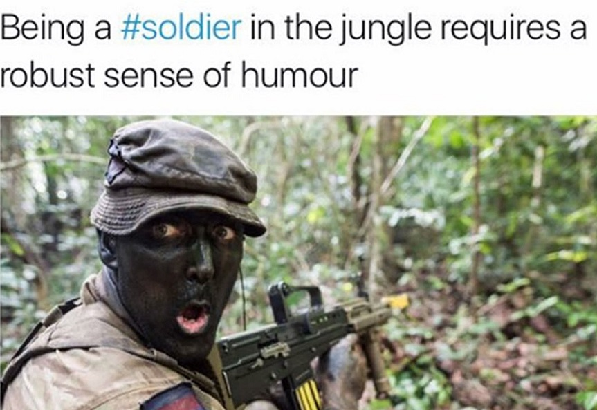 british army tweet