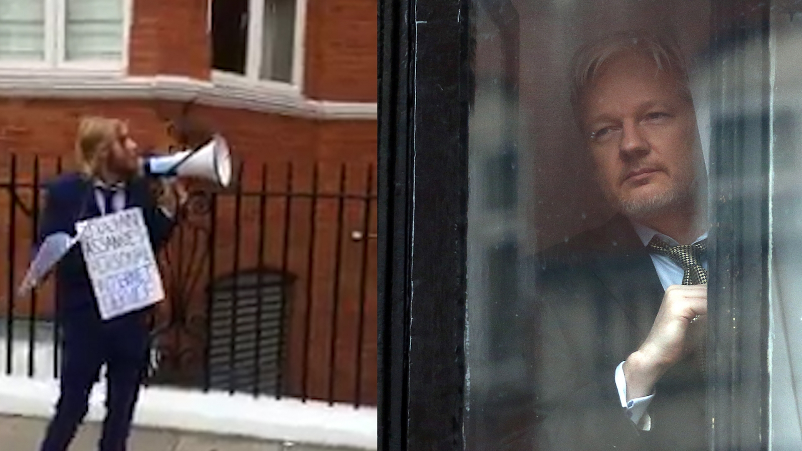 Julian Assange has the Internet read