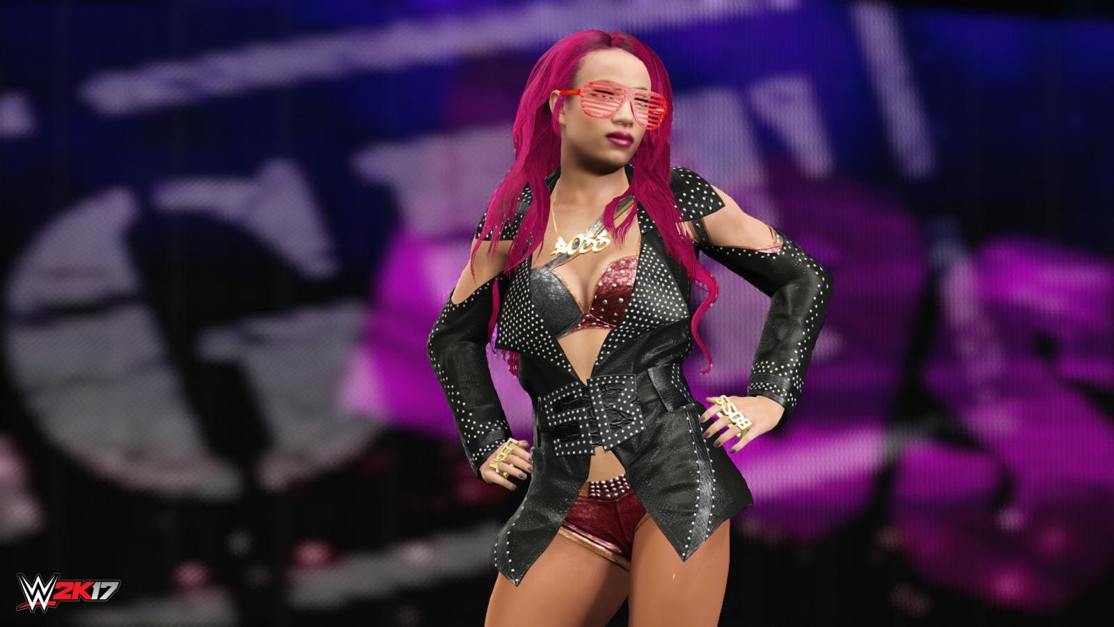 WWE 2K17 Sasha Banks