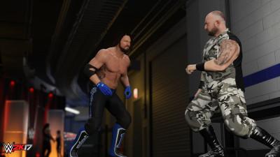 WWE 2K17 Backstage Brawl