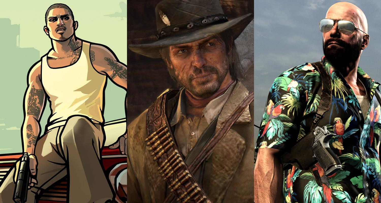 Rockstar Trailers Red Dead GTA Max Payne