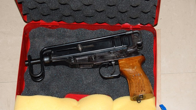 skorpion machine gun