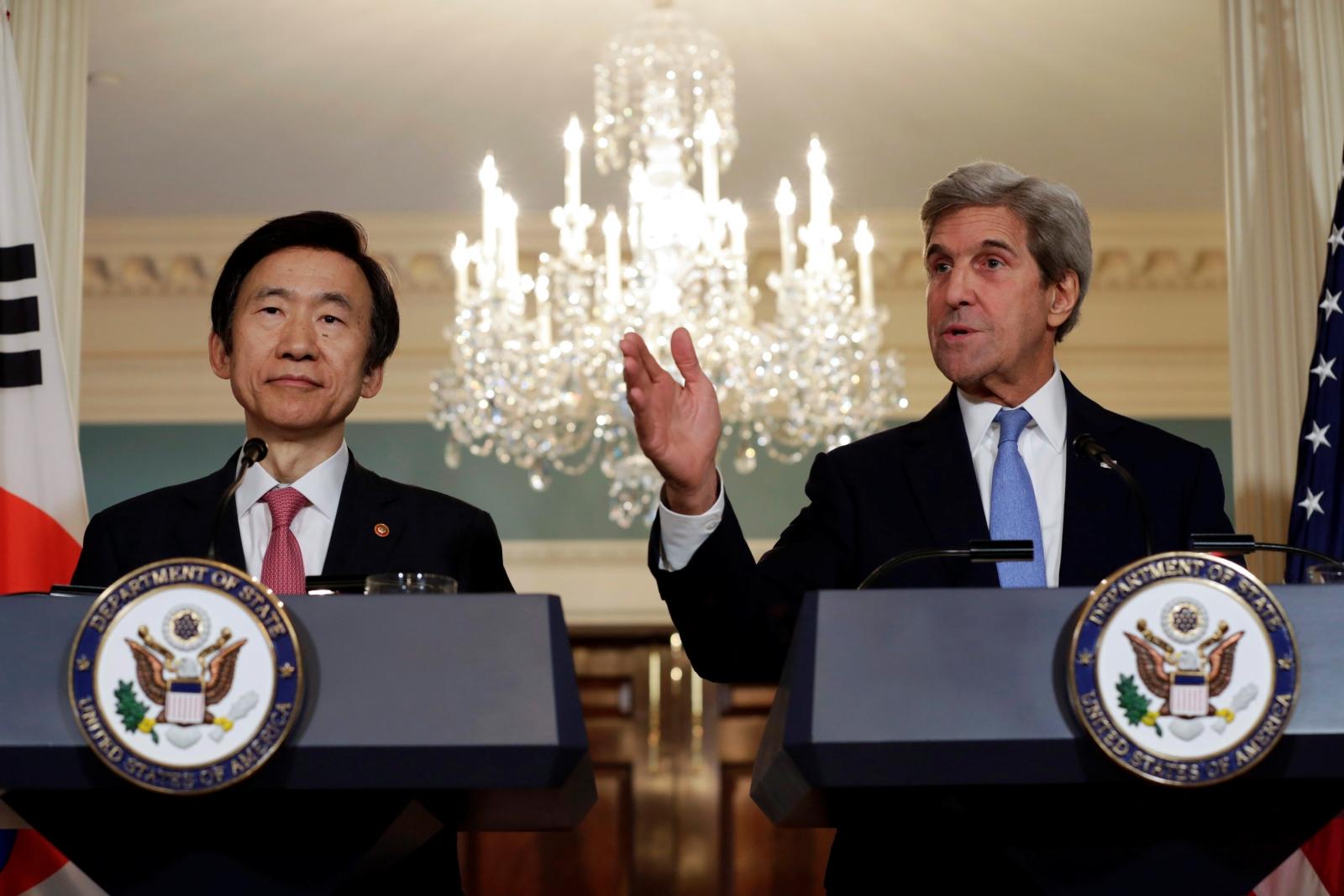 Yun Byung-se, John Kerry