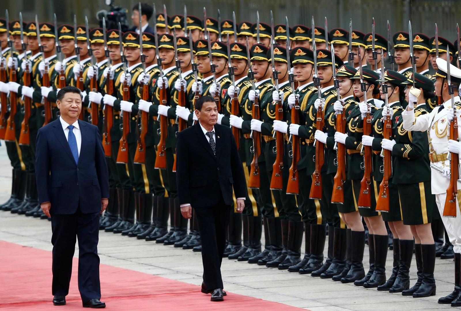 Duterte's China visit