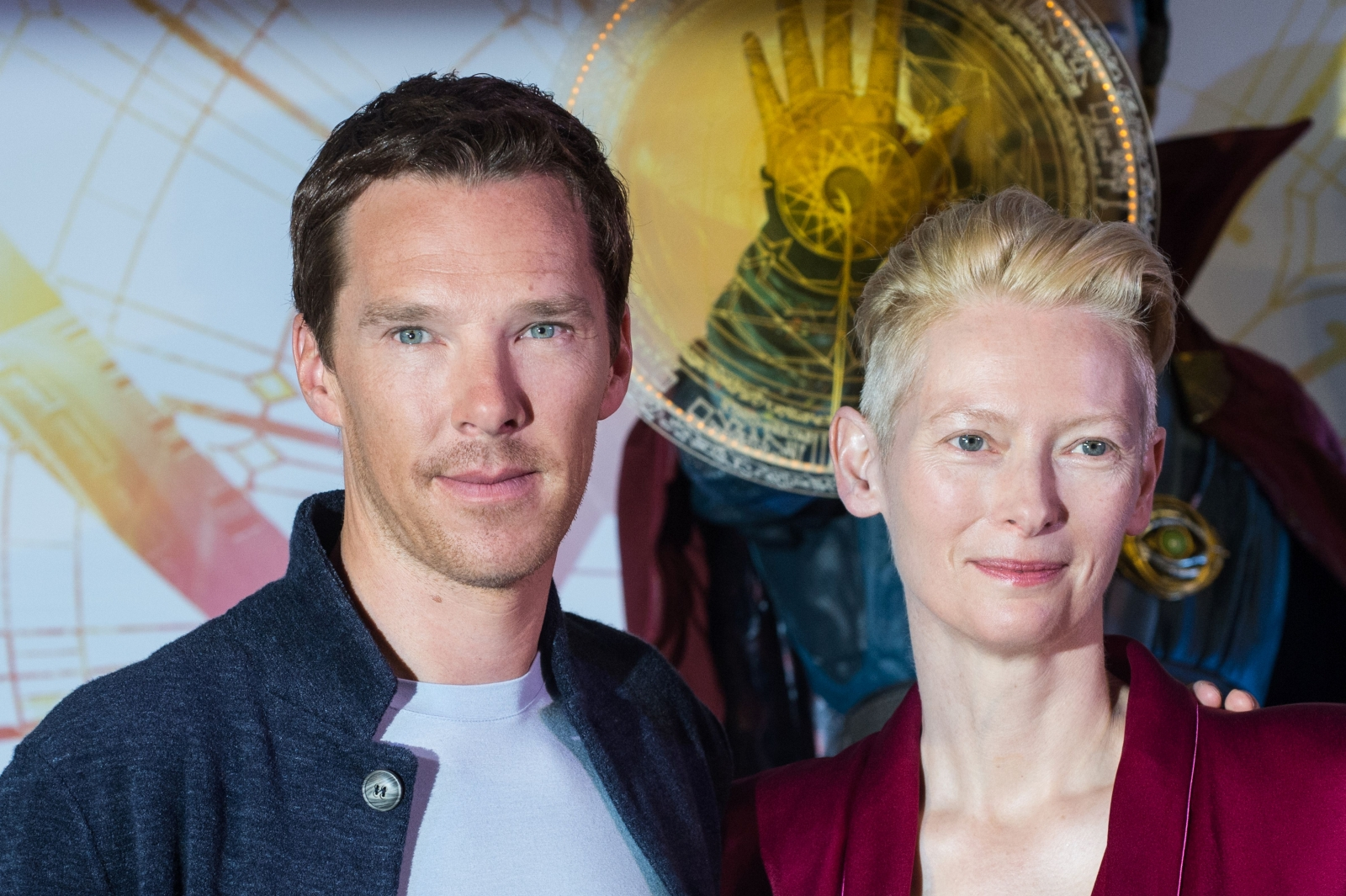 Benedict Cumberbatch and Tilda Swinton
