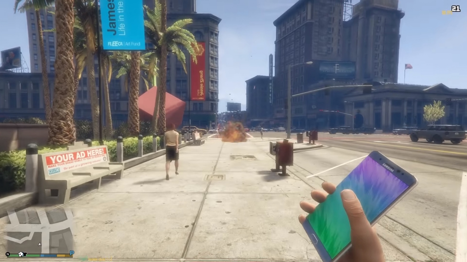 Grand Theft Auto Note 7 mod