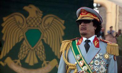 Col Muammar Gaddafi Libya