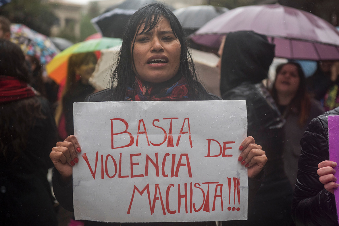 Argentina: violence against women