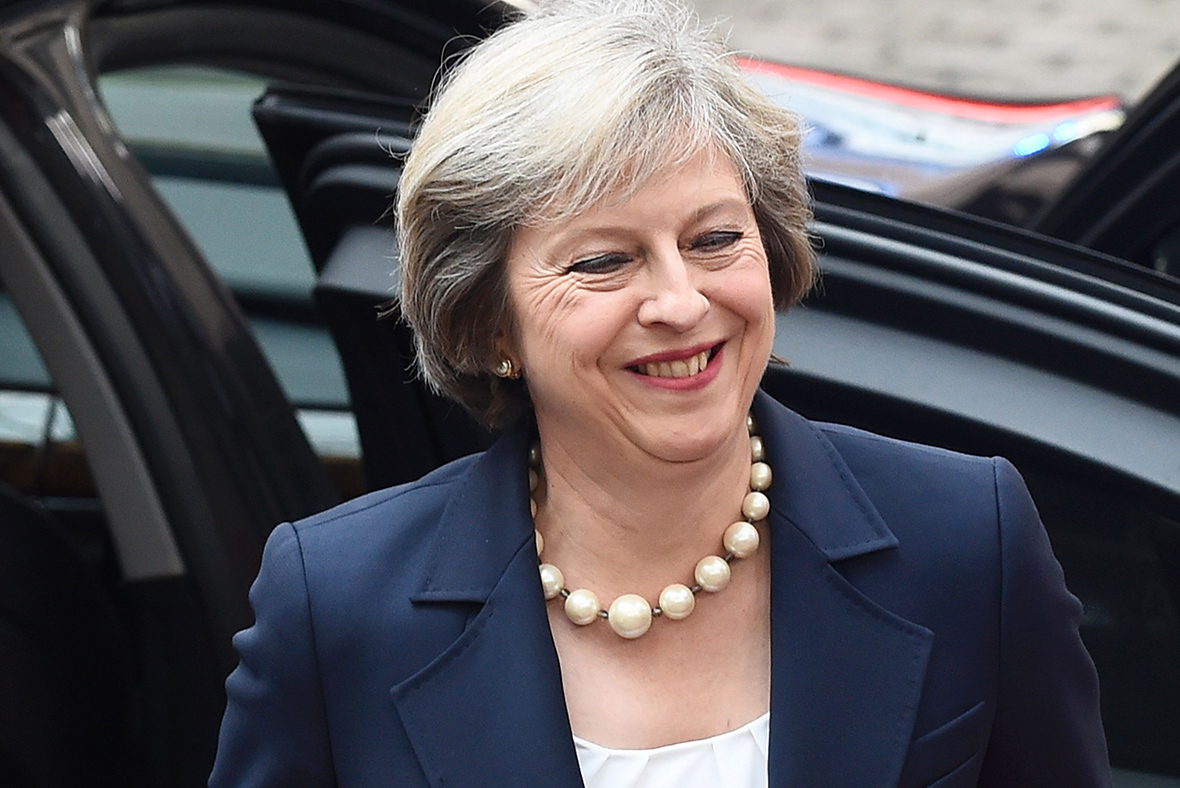 Theresa May to appear in Vogue magazine photoshoot in April