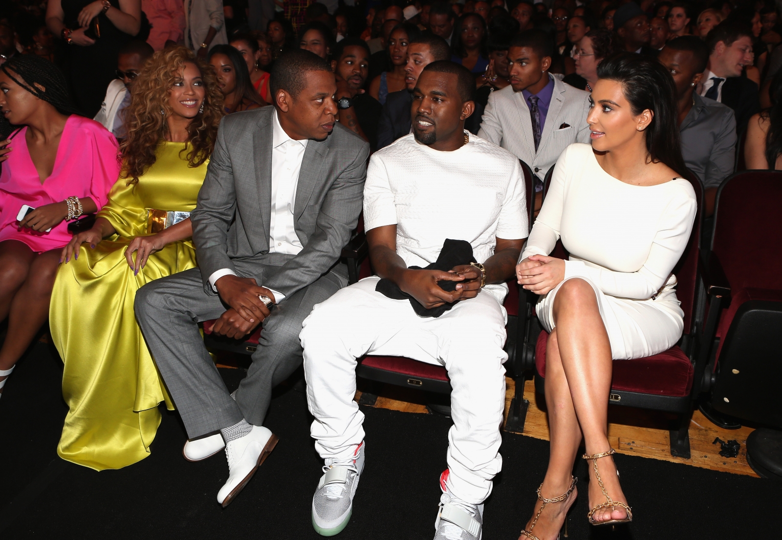 Beyonce and Kanye West feud