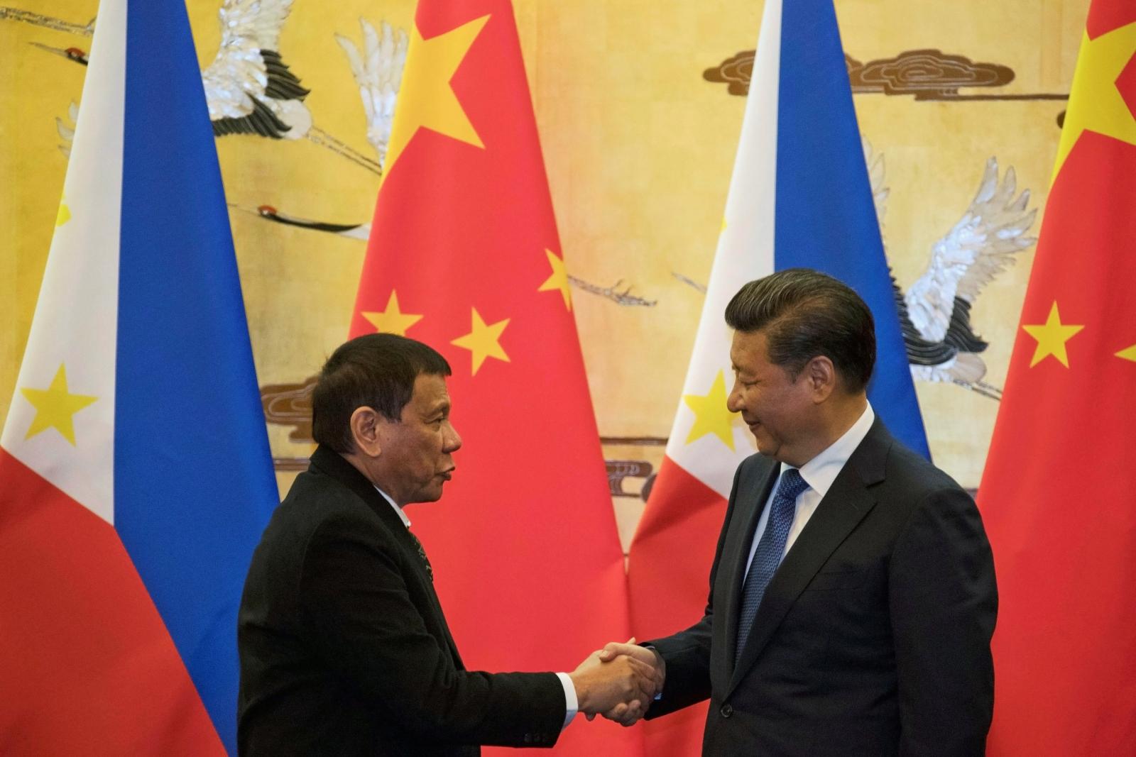 Duterte visit to China