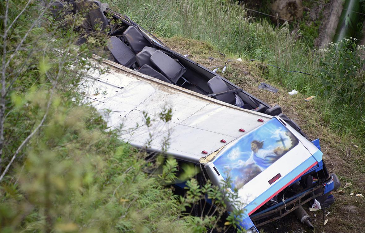 Costa Rica bus crash