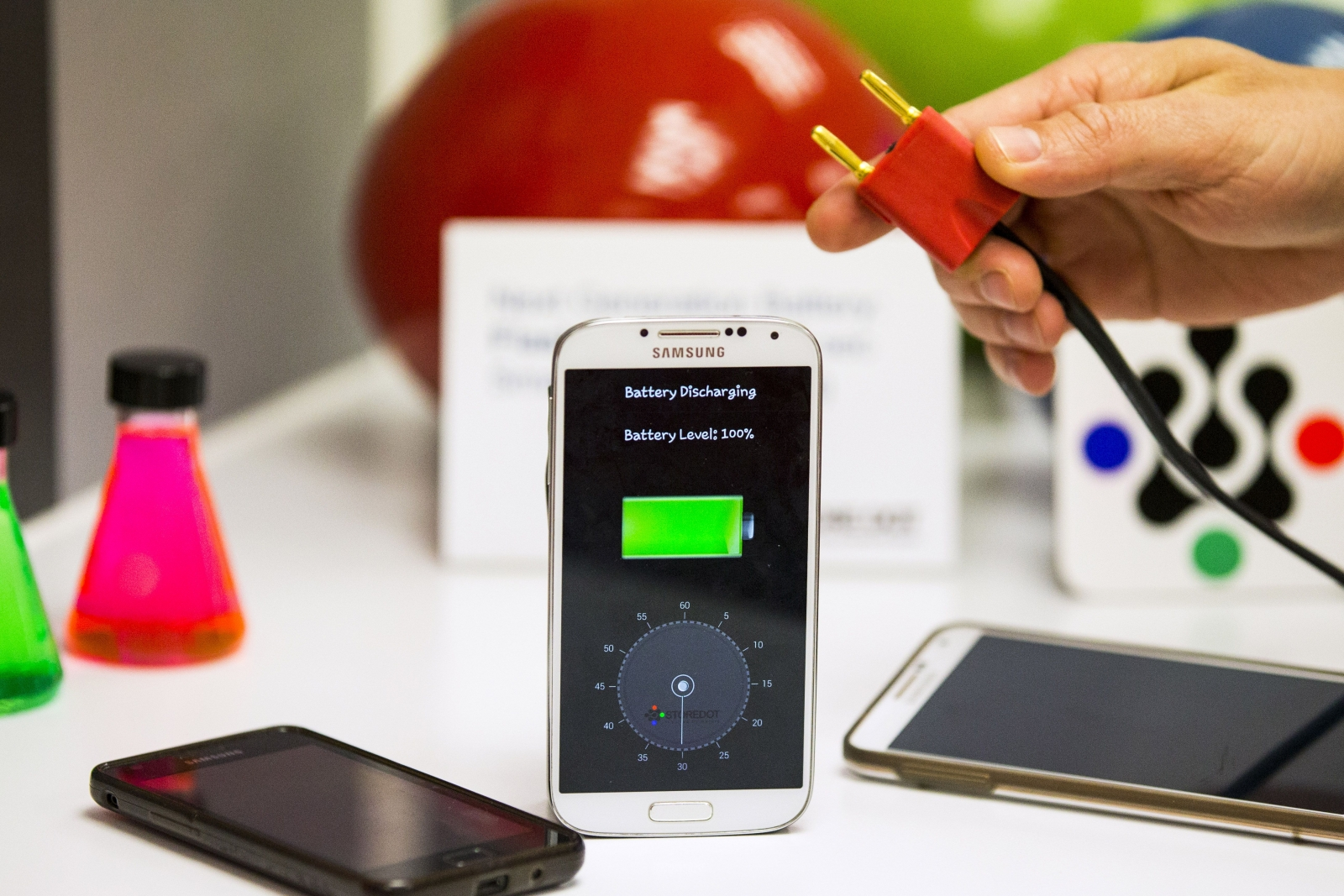 Smartphones with lithium-ion batteries