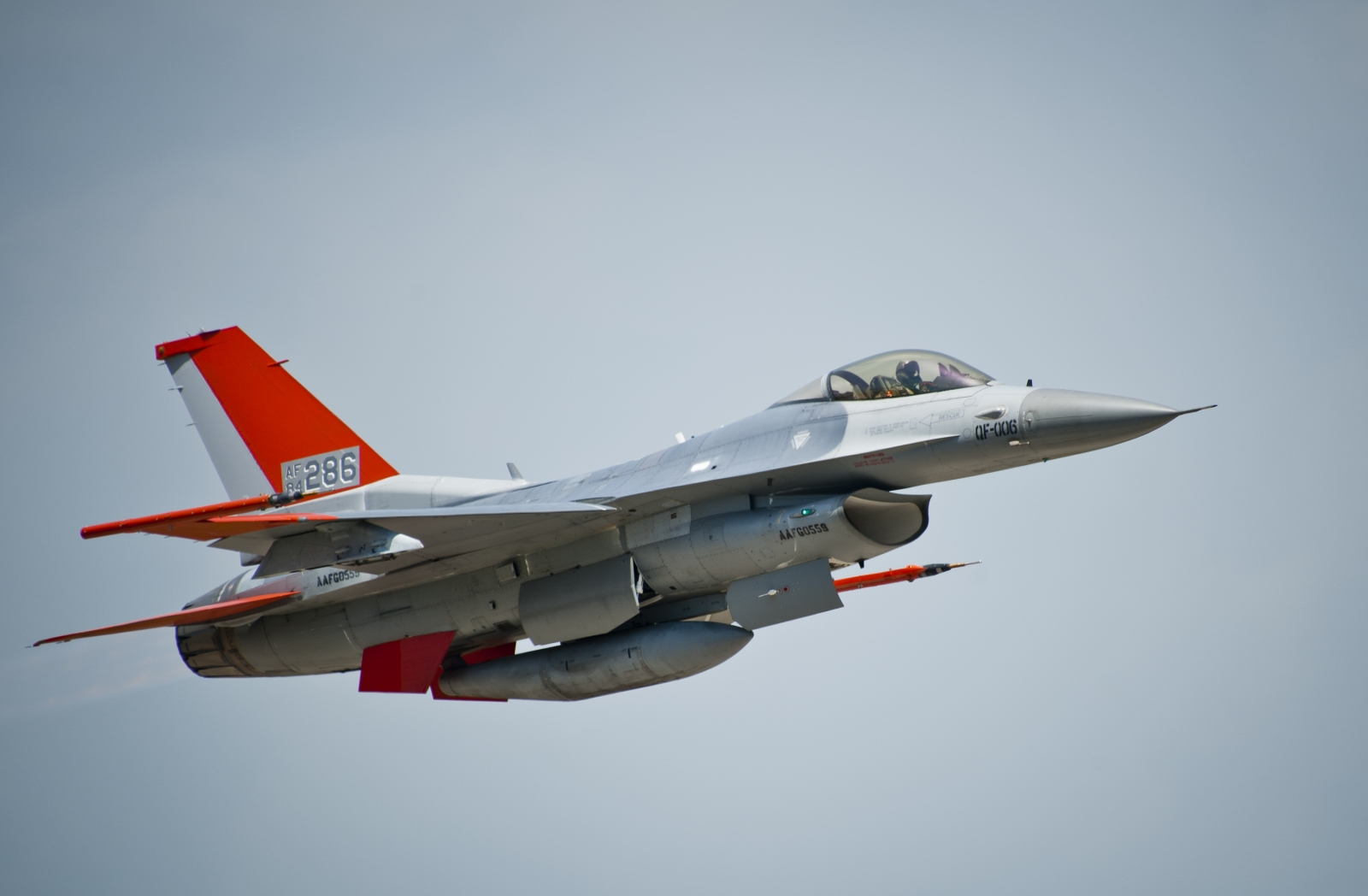 Meet the US Air Force's QF-16 fighter-jet-turned-drone