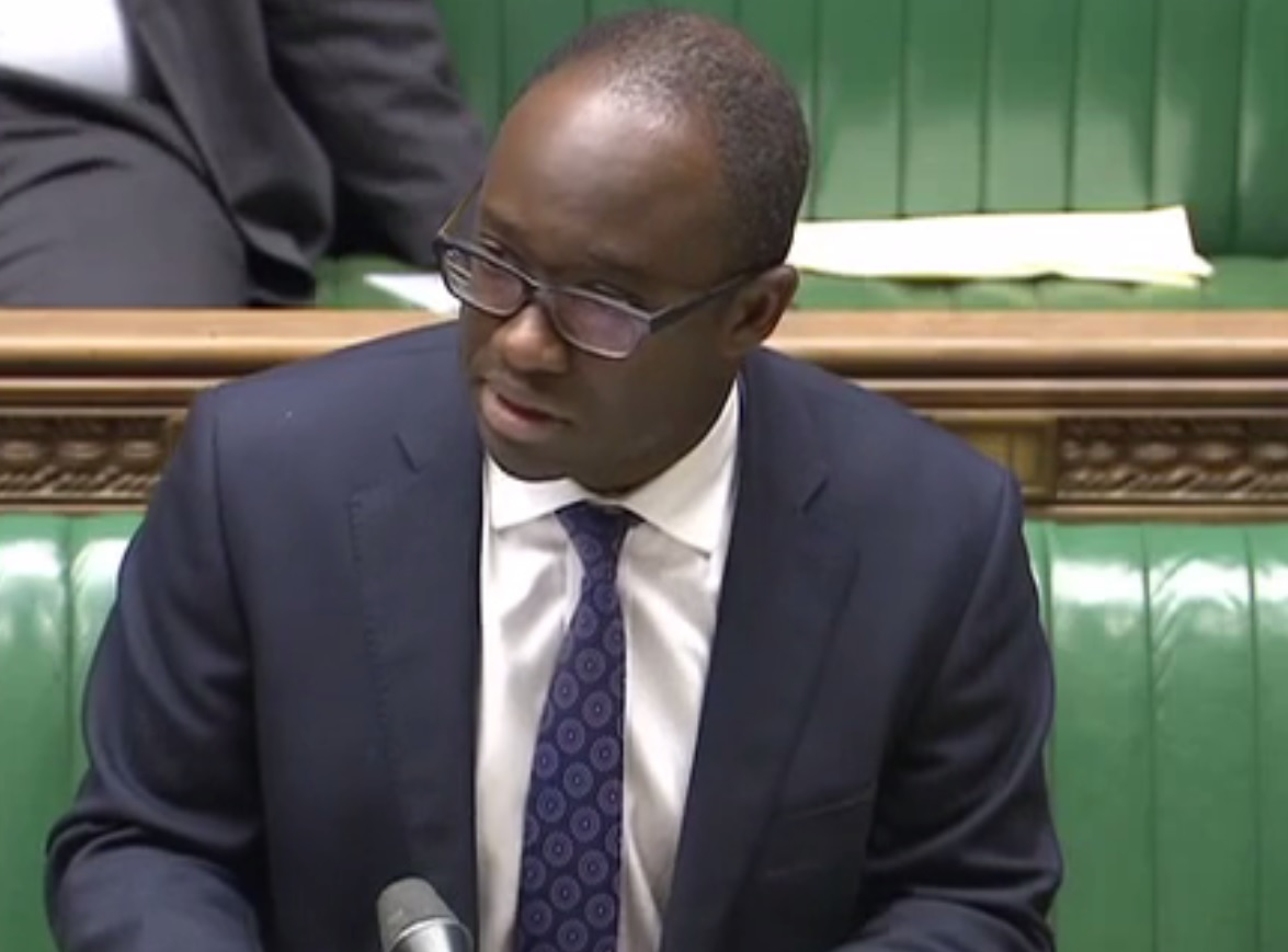 Tory Minister Sam Gyimah