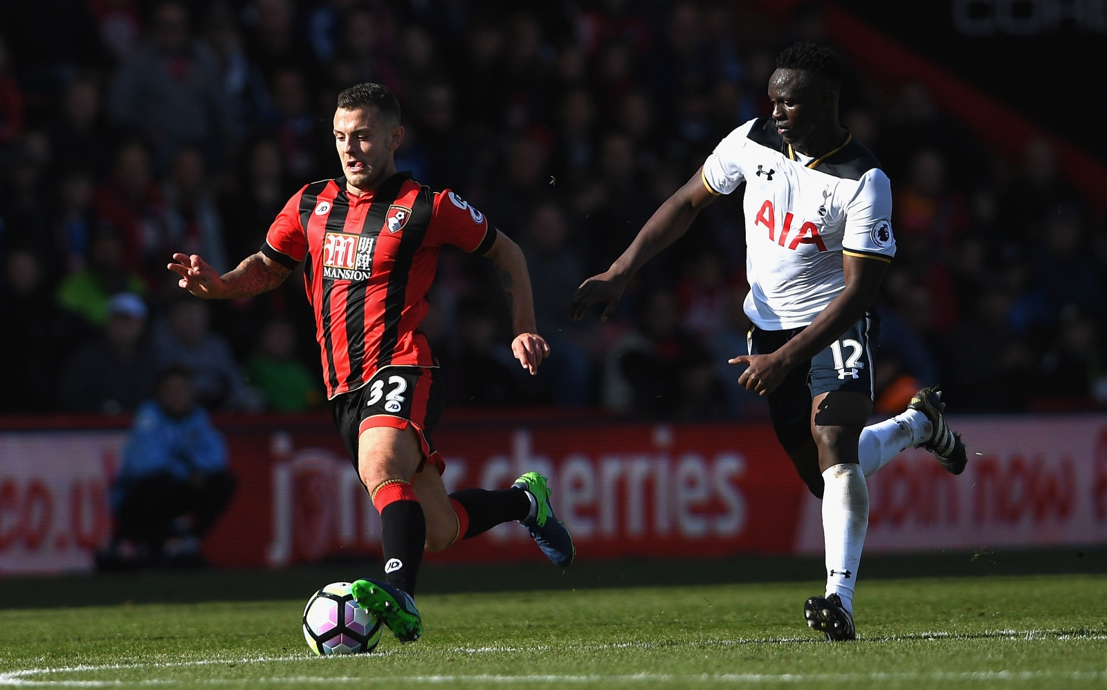 Jack Wilshere happy out of his comfort zone at Bournemouth