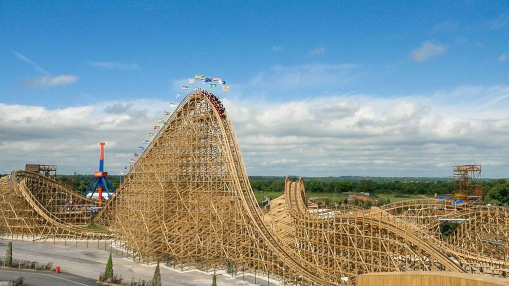 The Cu Chulainn Coaster at Tayto Park