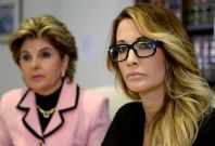 Jessica Drake and lawyer Gloria Allred