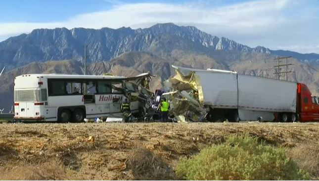 Palm Springs Coach Crash
